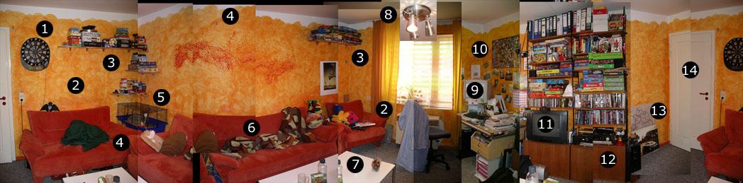 Das alte Wohnzimmer