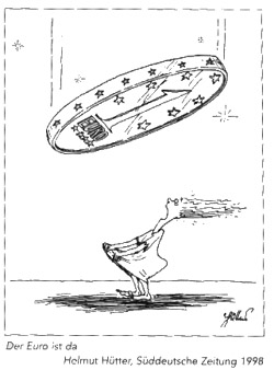 Euro-Sterntaler-Karikatur