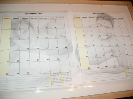 Männerkalender hinten - Geiz ist Geil