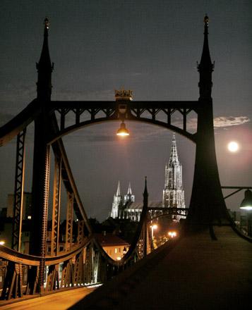 Vollmond am Münster