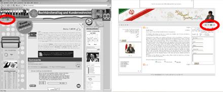Ahmadinedschads Blog