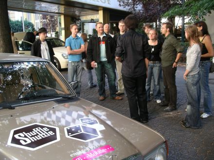 Shuffle Shuttle Bloggertreffen in Berlin