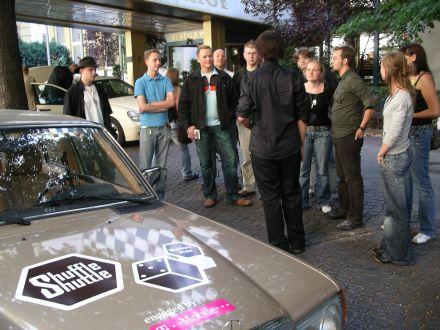 Shuffle Shuttle Bloggertreffen in Berlin