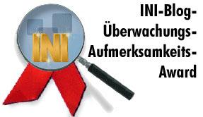 INI-Blog-Überwachungs-Aufmerksamkeits-Award