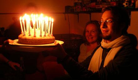 Geburtstagskuchen für Manu