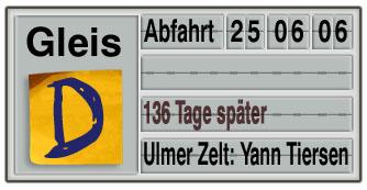 Verspätungswochen: Yann Tiersen im Ulmer Zelt
