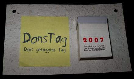 DonsTag-Kalender
