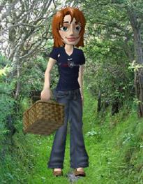 Kerstin in 3D