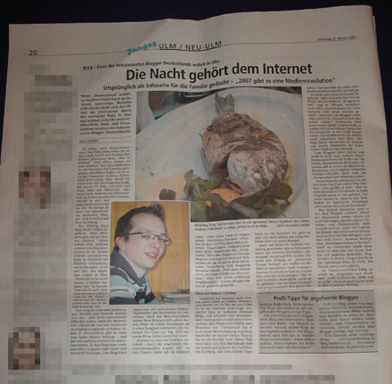 Donstag in der S&#252;dwestpresse