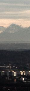 Alpen von Ulm aus