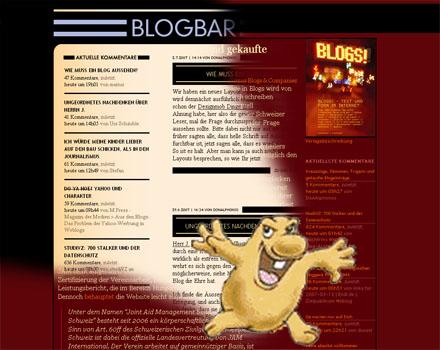 Der Gilb auf Blogbar