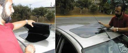 fake car-window