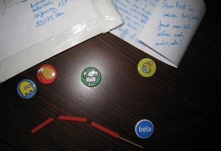 Buttons und Co