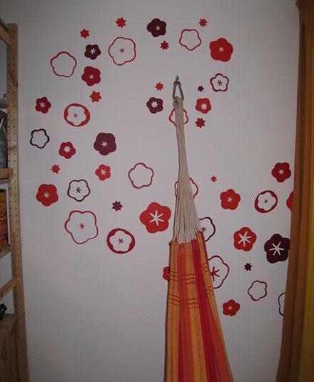 Hängemattenblumenspirale