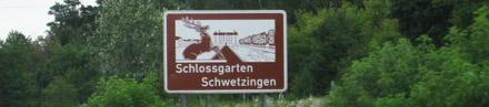 Unterrichtungstafel Schlossgarten Schwetzingen
