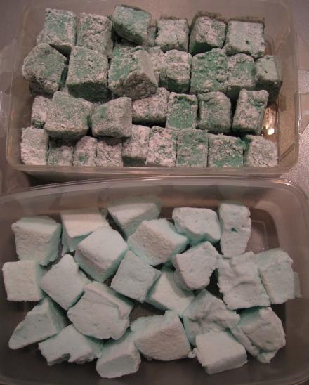 beide selbstgemacht Marhmallow-Sorten
