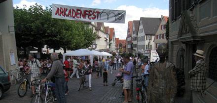 Arkadenfest