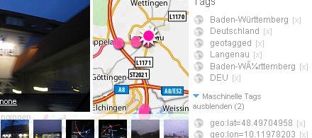GPS auf Flickr