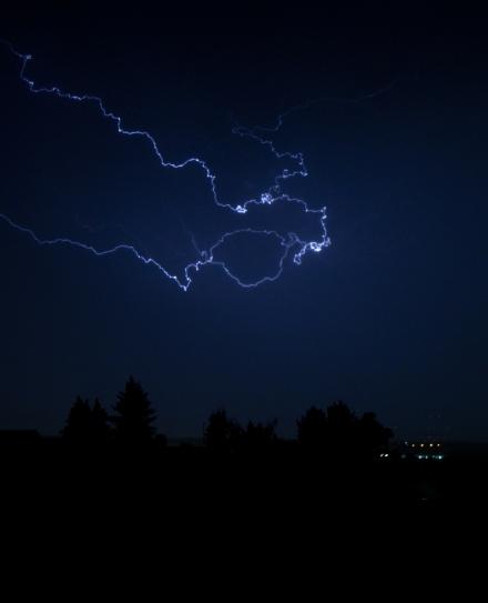 Blitz über Ulm